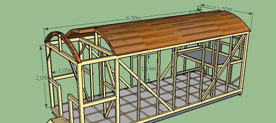 roulottes vendre en bois. Black Bedroom Furniture Sets. Home Design Ideas
